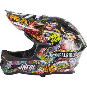 ONeal Warp Fidlock Helmet Crank (black/multi)